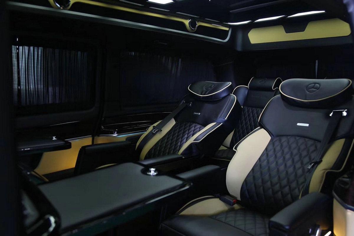 奔驰v260改装vclass商务车 大图4