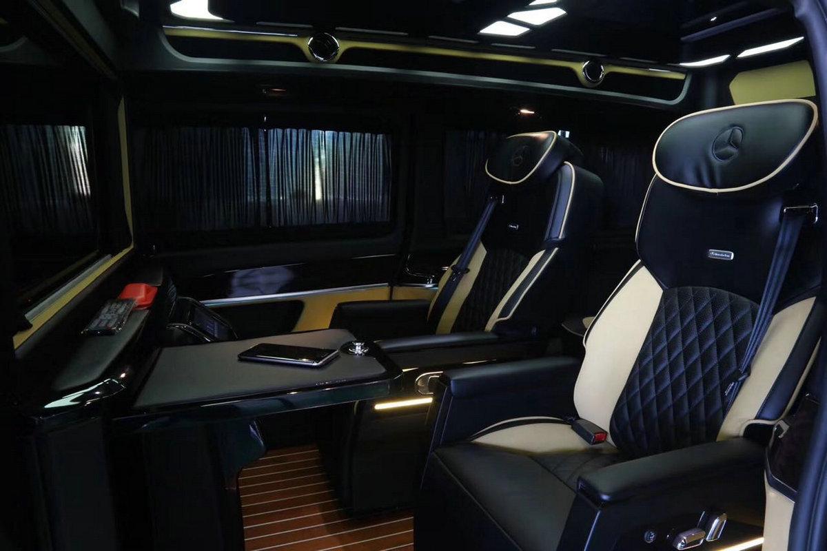 奔驰v260改装vclass商务车 大图7