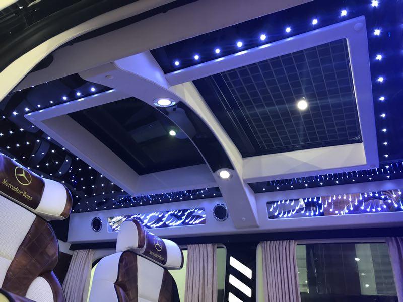 福建奔驰v级商务车 7座威霆改装 大图6