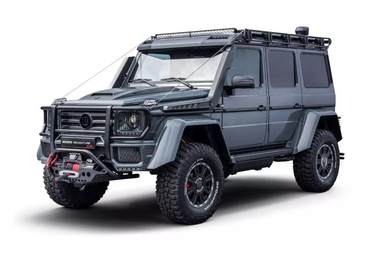 巴博斯超级车4x4 550匹马力 大图1