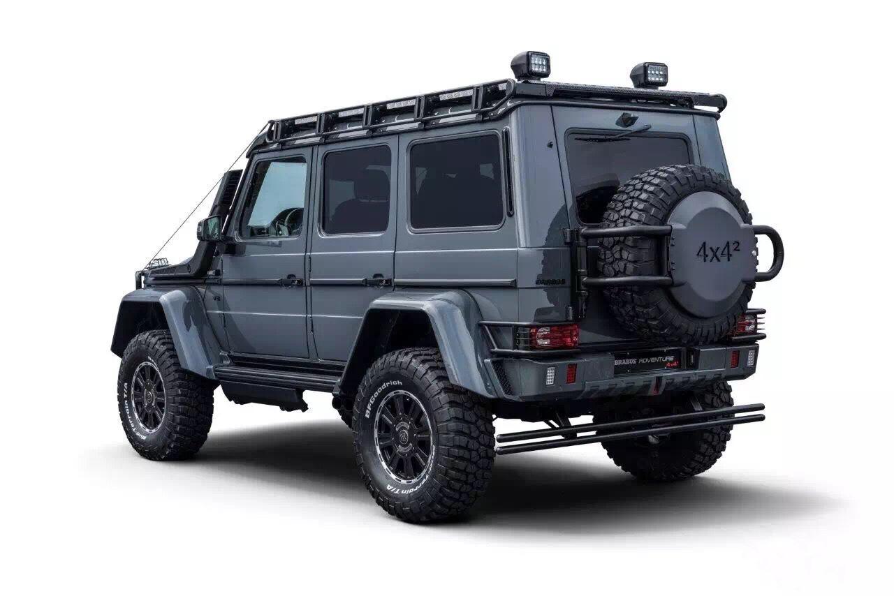巴博斯超级车4x4 550匹马力 大图3