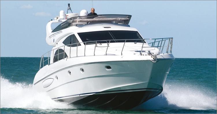 私人游艇 意大利 ROSE 52豪华飞桥游艇 15.58米