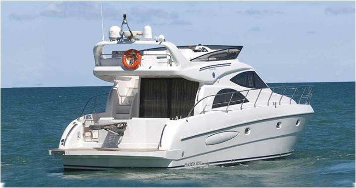 私人游艇 意大利 ROSE 52豪华飞桥游艇 15.58米 大图5