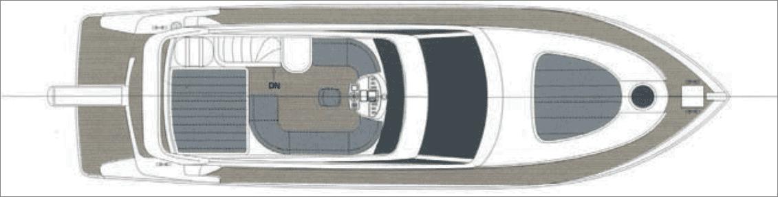 私人游艇 意大利 ROSE 52豪华飞桥游艇 15.58米 大图7
