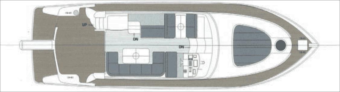 私人游艇 意大利 ROSE 52豪华飞桥游艇 15.58米 大图9