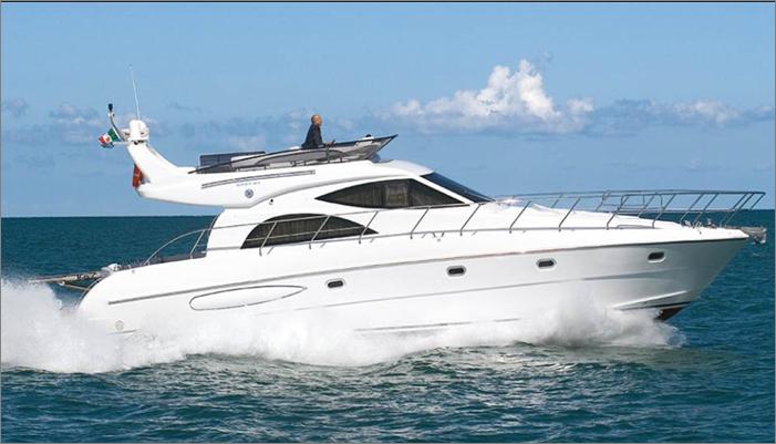 私人游艇 意大利 ROSE 52豪华飞桥游艇 15.58米 大图10