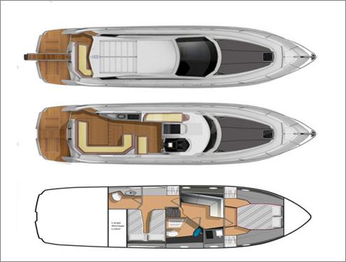 私人游艇 意大利 salpa 游艇 laver 38x 11.95米 大图4