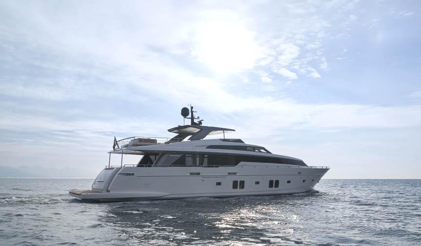 私人游艇 意大利圣劳伦佐sl106特别定制版 33米