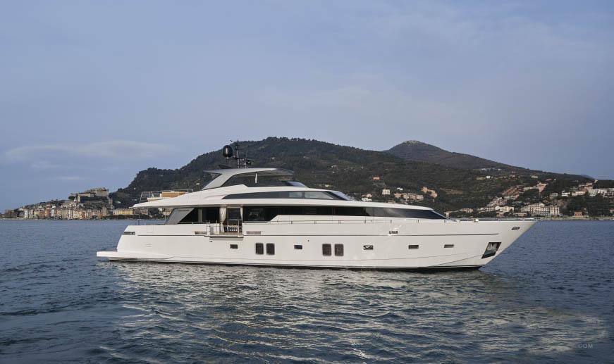 私人游艇 意大利圣劳伦佐sl106特别定制版 33米 大图2