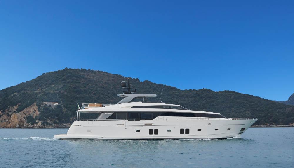 私人游艇 意大利圣劳伦佐sl106特别定制版 33米 大图3