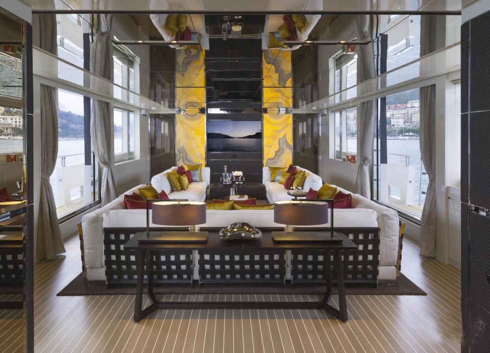 私人游艇 意大利圣劳伦佐sl106特别定制版 33米 大图4