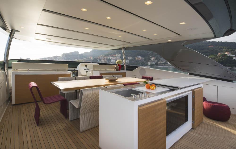 私人游艇 意大利圣劳伦佐sl106特别定制版 33米 大图6