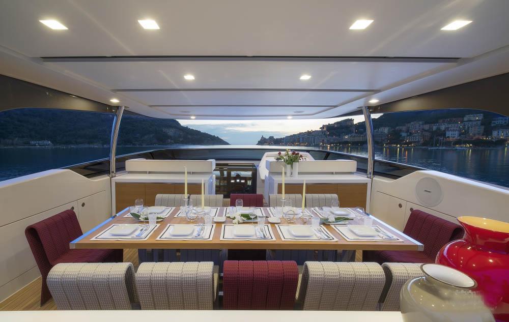 私人游艇 意大利圣劳伦佐sl106特别定制版 33米 大图7