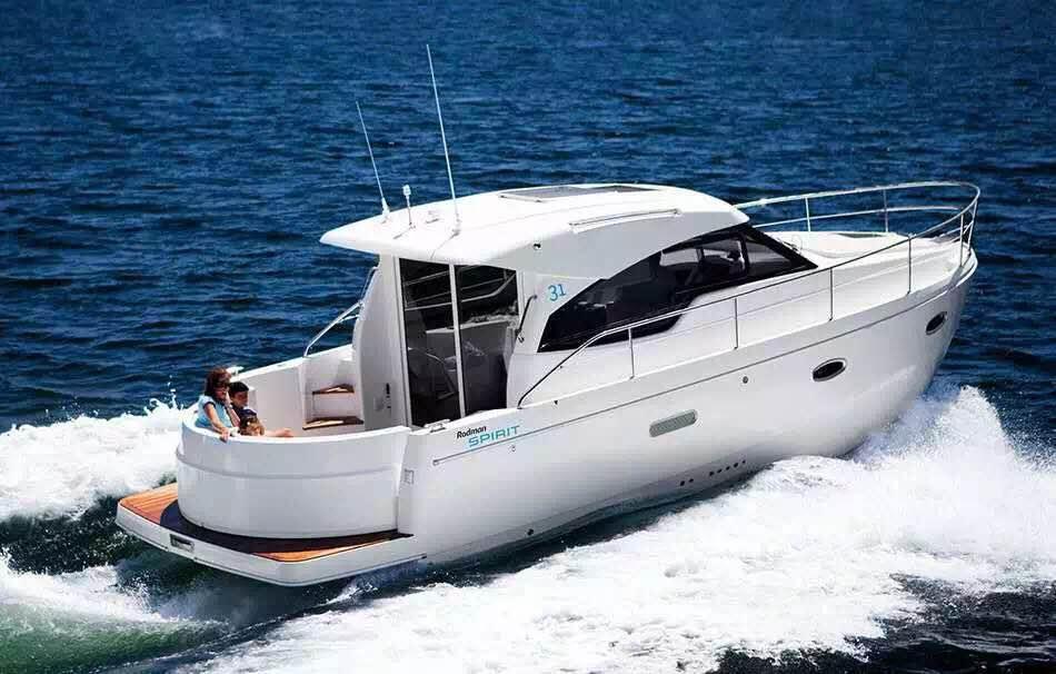 私人游艇 西班牙 罗德曼 sprit31 9.48米