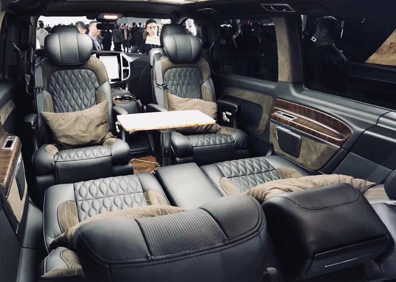 福建奔驰v级商务车vclass改装 价格及图片 大图1