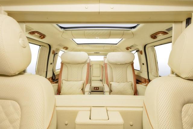 18款奔驰v级商务车vclass最新报价及图片