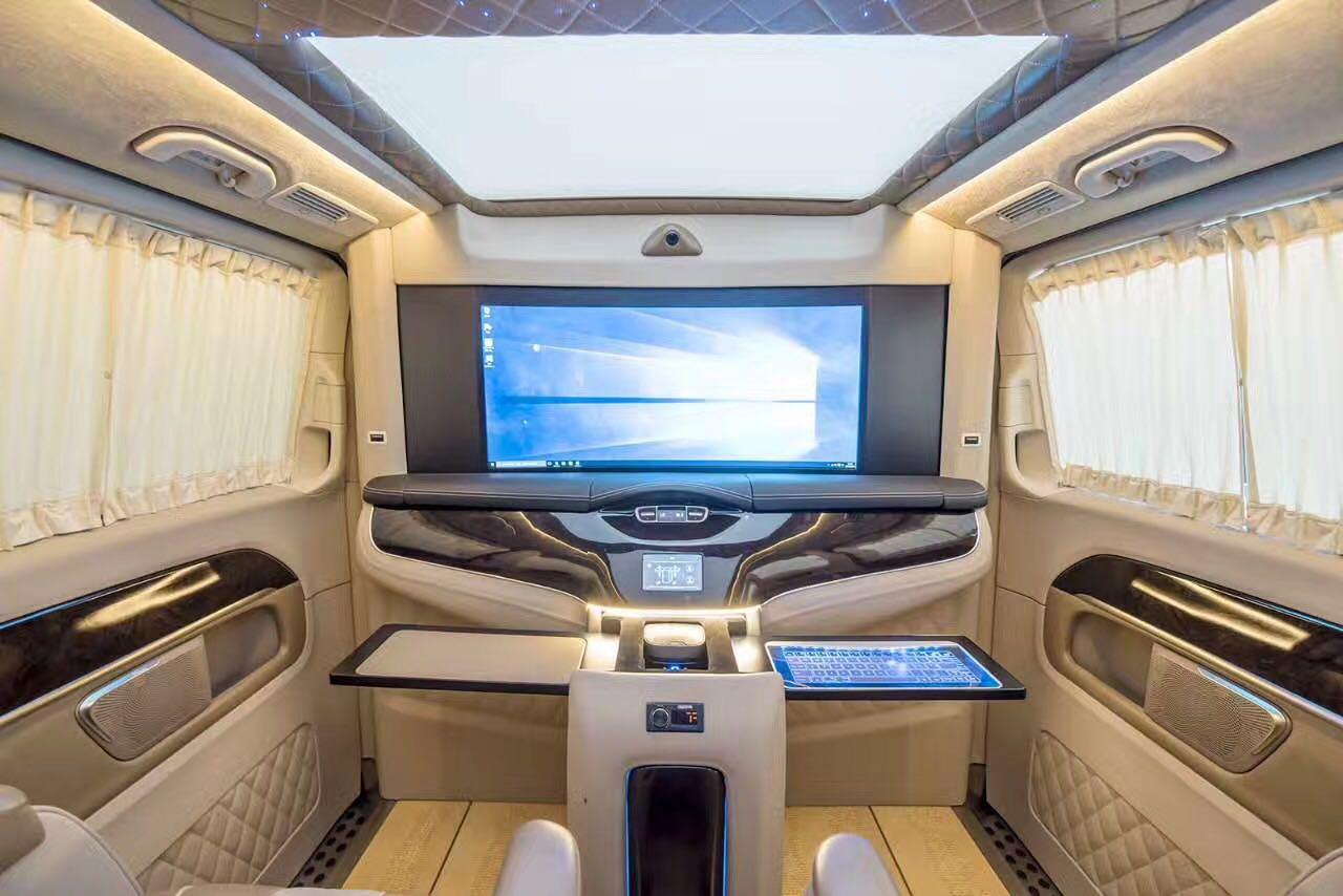 奔驰vclass商务车雅典版配置及价格 大图1