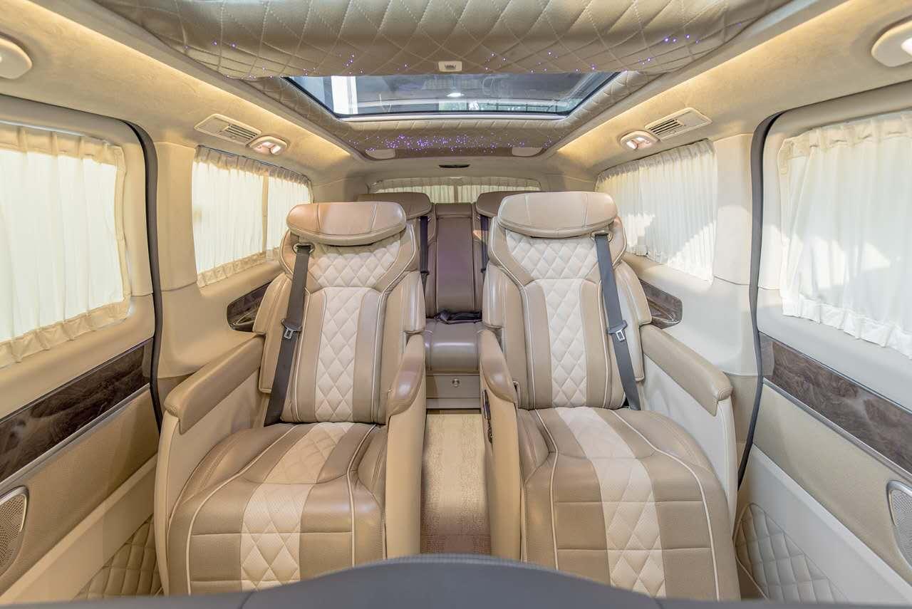 奔驰vclass商务车雅典版配置及价格 大图2