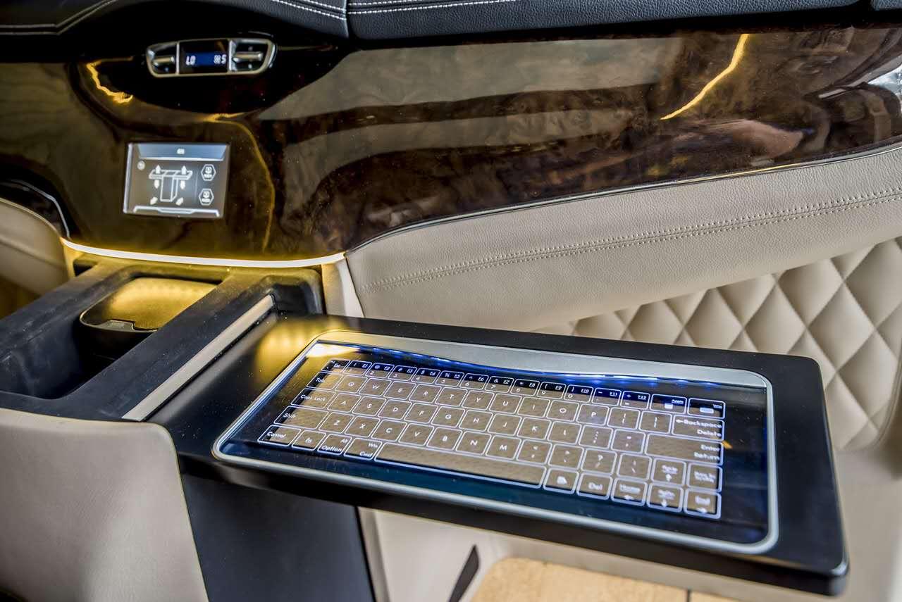 奔驰vclass商务车雅典版配置及价格 大图3
