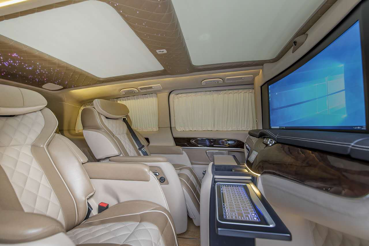 奔驰vclass商务车雅典版配置及价格 大图5