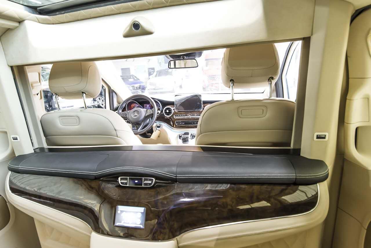 奔驰vclass商务车雅典版配置及价格 大图6