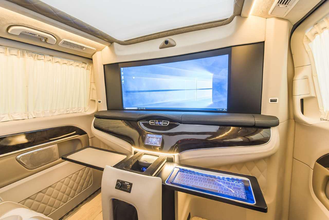 奔驰vclass商务车雅典版配置及价格 大图8