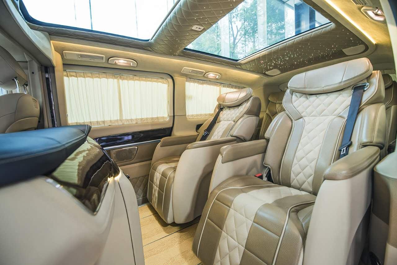 奔驰vclass商务车雅典版配置及价格 大图9