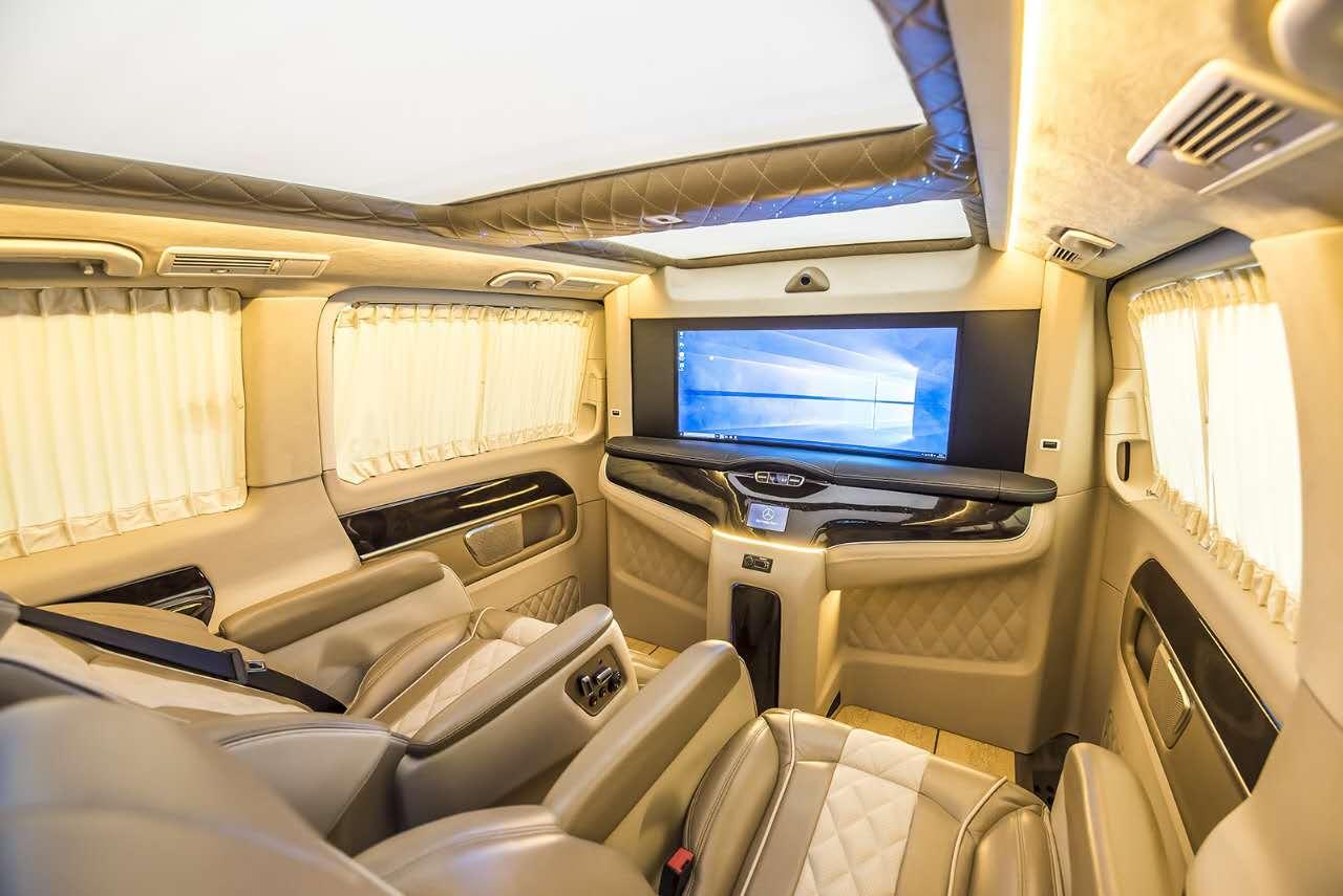 奔驰vclass商务车雅典版配置及价格